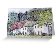 Village number 2 Greeting Card