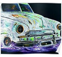 Ghost Car Poster