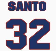 National baseball player Santo Alcala jersey 32 T-Shirt