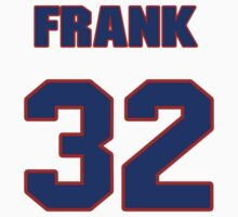 National baseball player Frank Barnes jersey 32 T-Shirt