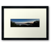 Denmark at Sunset Mk2 Framed Print