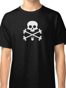 Skull and Cross Fitness Design Classic T-Shirt