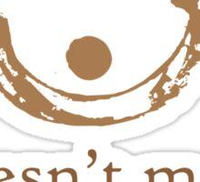Coffee stain Sticker