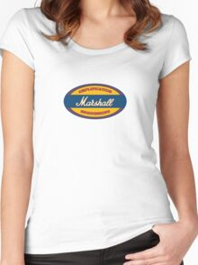 Vintage marshall amp Women's Fitted Scoop T-Shirt