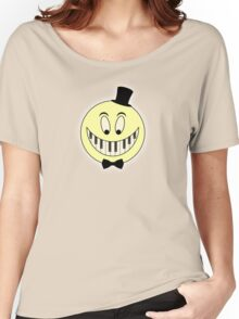 Vintage Keyboard Smile Cartoon Women's Relaxed Fit T-Shirt