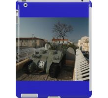 US Army Tank Liberation Memorial, Marseilles, France 2012 iPad Case/Skin