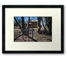 Campbells forest post office #1 Framed Print