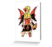 Gothic Fairey Greeting Card