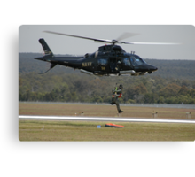 Air Sea Rescue Demonstration @ Nowra Airshow 2008 Canvas Print