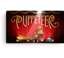 Puppeteer Canvas Print