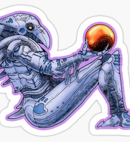 Chozo Statue  Sticker