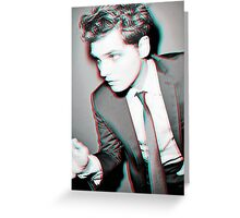 Gerard Way '3D' design Greeting Card