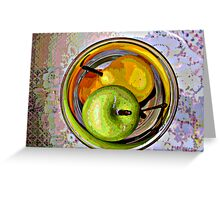 Floating Fruit Greeting Card