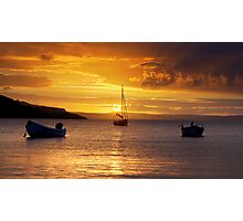 Squince Harbour Sunrise Photographic Print