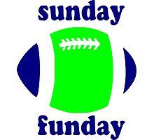 Super Bowl Sunday Funday - Seattle Photographic Print