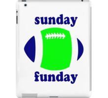 Super Bowl Sunday Funday - Seattle iPad Case/Skin