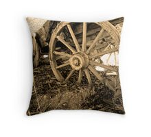 End of the Trail © Throw Pillow