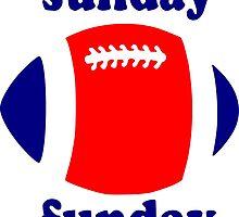Super Bowl Sunday Funday - New England by PayneMountain