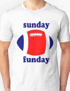 Super Bowl Sunday Funday - New England Unisex T-Shirt