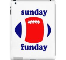 Super Bowl Sunday Funday - New England iPad Case/Skin