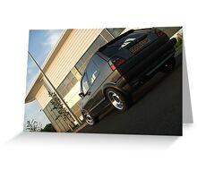 MKII Golf GTi Greeting Card