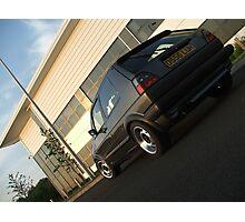 MKII Golf GTi Photographic Print