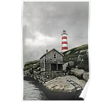 Abandoned - The Sambro Island Lighthouse Poster