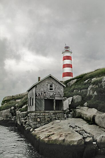 Abandoned - The Sambro Island Lighthouse by Darlene Ruhs