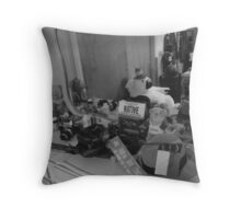 Nostalgic Thoughts Throw Pillow
