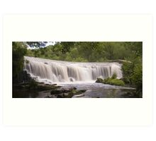 Monsal Weir: The Peak District Art Print