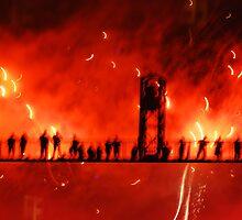 Burning Bridges by Judy Yanke Fritzges