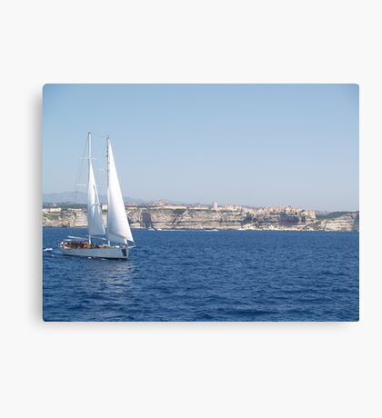 Sailing in the Straits Canvas Print