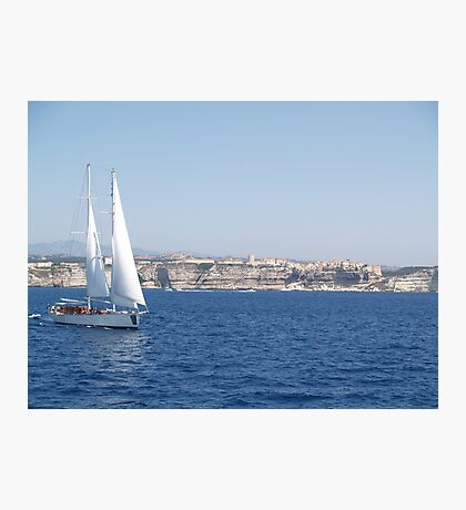 Sailing in the Straits Photographic Print