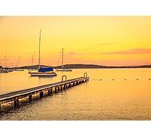Belmont Lake Macquarie Australia Photographic Print