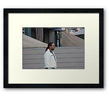 Russell Crowe Framed Print