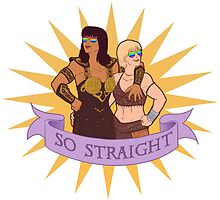 Xena and Gabrielle are totes platonic by snappilier