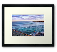Bar Beach NSW Australia Framed Print