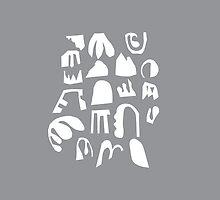 Practice Array - gray by Steve Juras