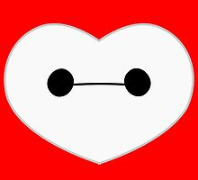 Baymax Heart by Ztw1217