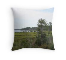 Weeks Bay Throw Pillow