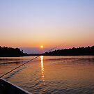 Tranquility On The French River by Debbie Oppermann
