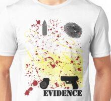 Evidence. Unisex T-Shirt