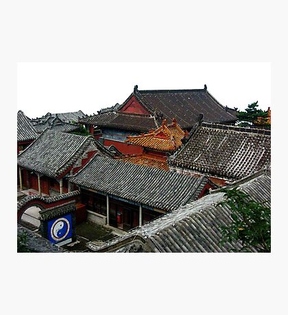 Tai Ji at Huang Shan Photographic Print