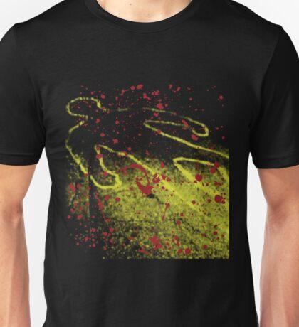 Chalk Outline Unisex T-Shirt