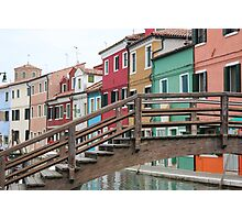 The Island of Burano Photographic Print