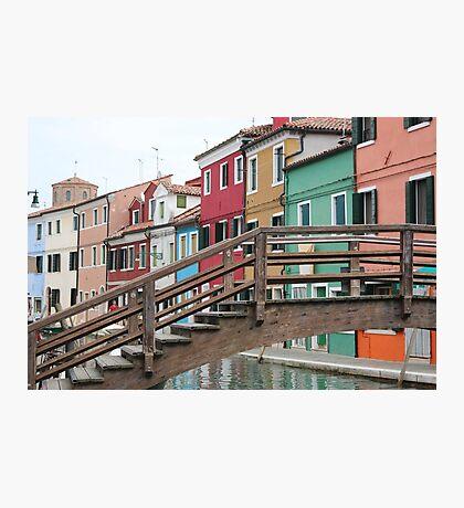 The Island of Burano Photographic Print