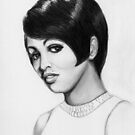 Tammi Terrell - Motown Singer  (1945-1967) by Carliss Mora