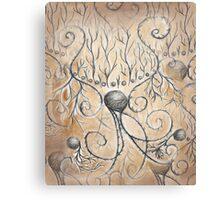 Music Soul Pattern Canvas Print