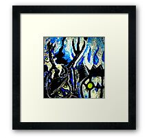 ghost night chandelure, lampent, litwick Framed Print