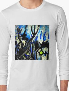 ghost night chandelure, lampent, litwick Long Sleeve T-Shirt